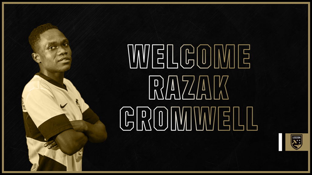 USL side Birmingham Legion FC sign Dreams FC left back Razak Cromwell