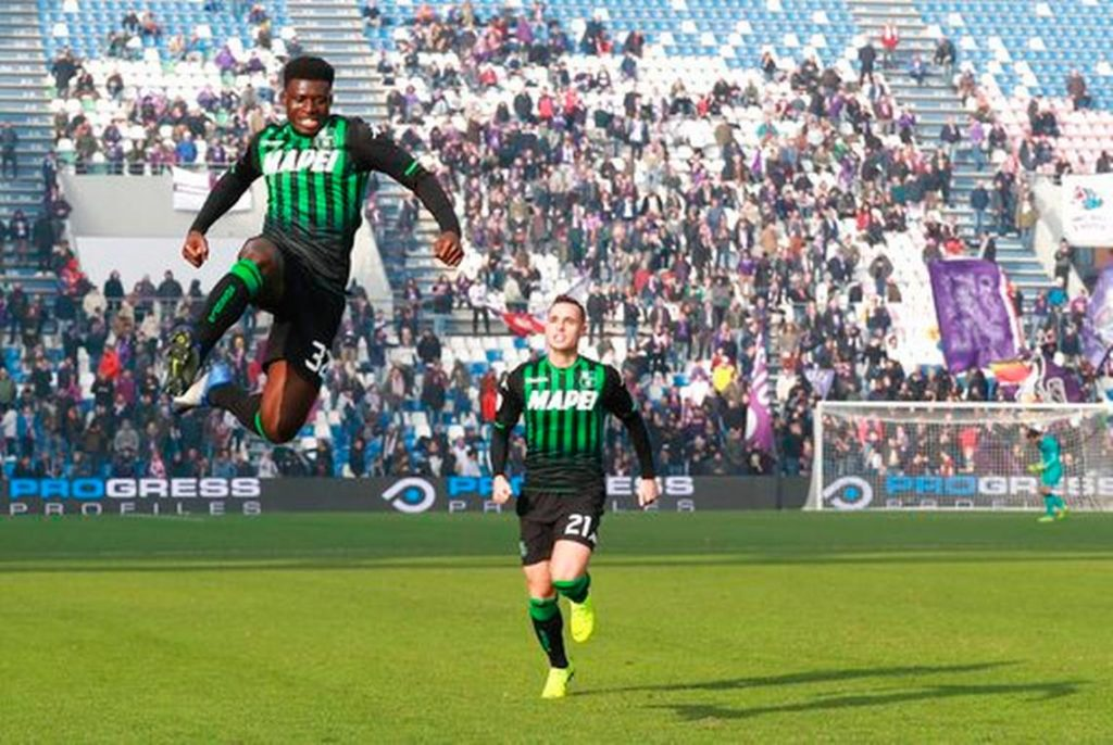 Napoli join race to sign Sassuolo midfielder Alfred Duncan