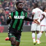 Alfred Duncan scores season's first league goal but Sassuolo throw away lead to draw at home