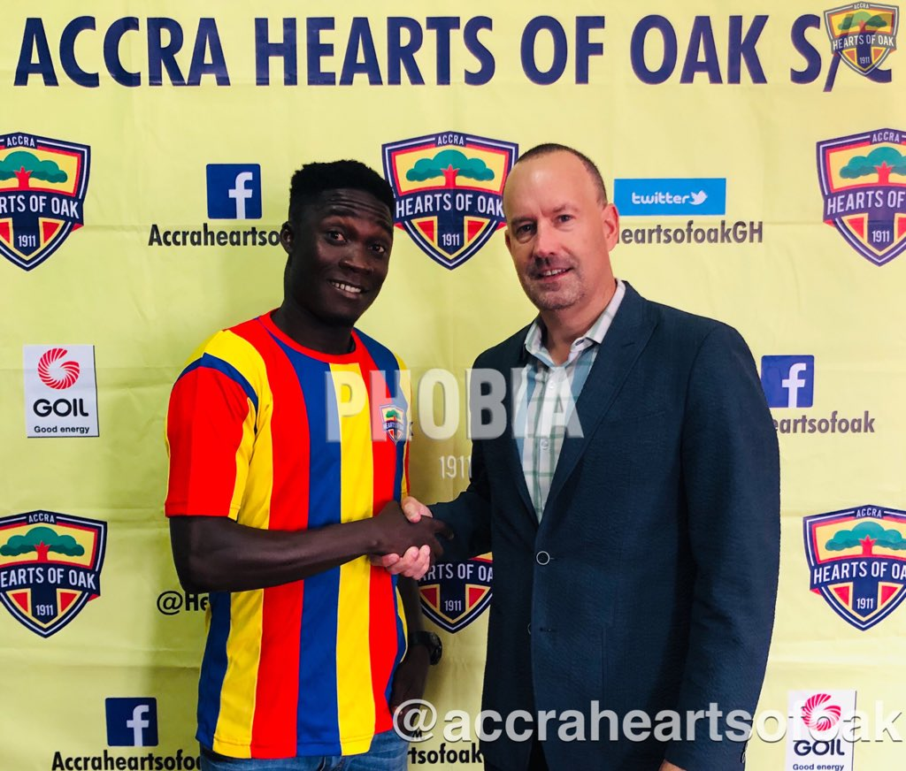 "Hearts reach deal with Karela to ""legally"" sign Dominic Eshun"