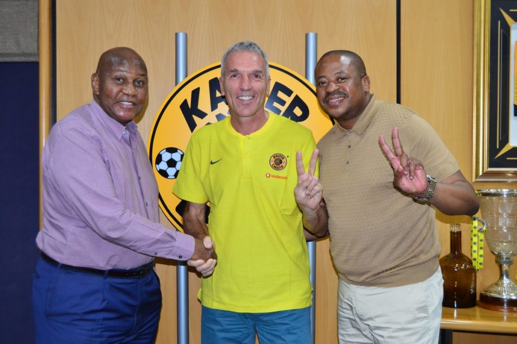 Former Kotoko and Hearts coach Ernst Middendorp reappointed by Kaizer Chiefs
