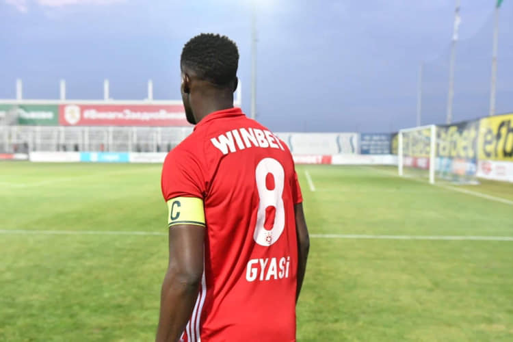 Ghana winger Edwin Gyasi reveals how he purchased his first football boots