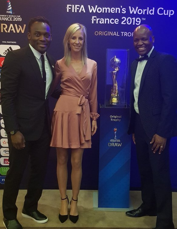Ex-Chelsea star Michael Essien getting FIFA recognition after role in 2019 FIFA Women's World Cup draw
