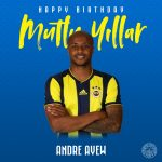Fenerbahçe celebrates Andre Ayew on birthday