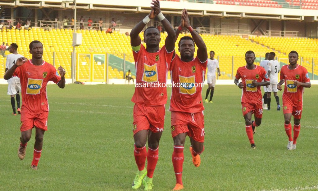 Asante Kotoko captain Amos Frimpong satisfied with victory over Inter Allies in friendly