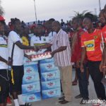 Asante Kotoko's Greater Accra Supporters body donates to players