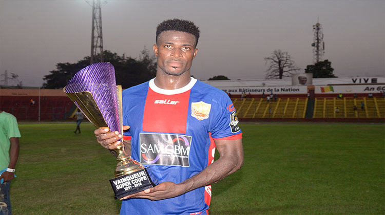 Ghanaian defender Godfred Asante delighted to win Guinean Super Cup with AC Horoya