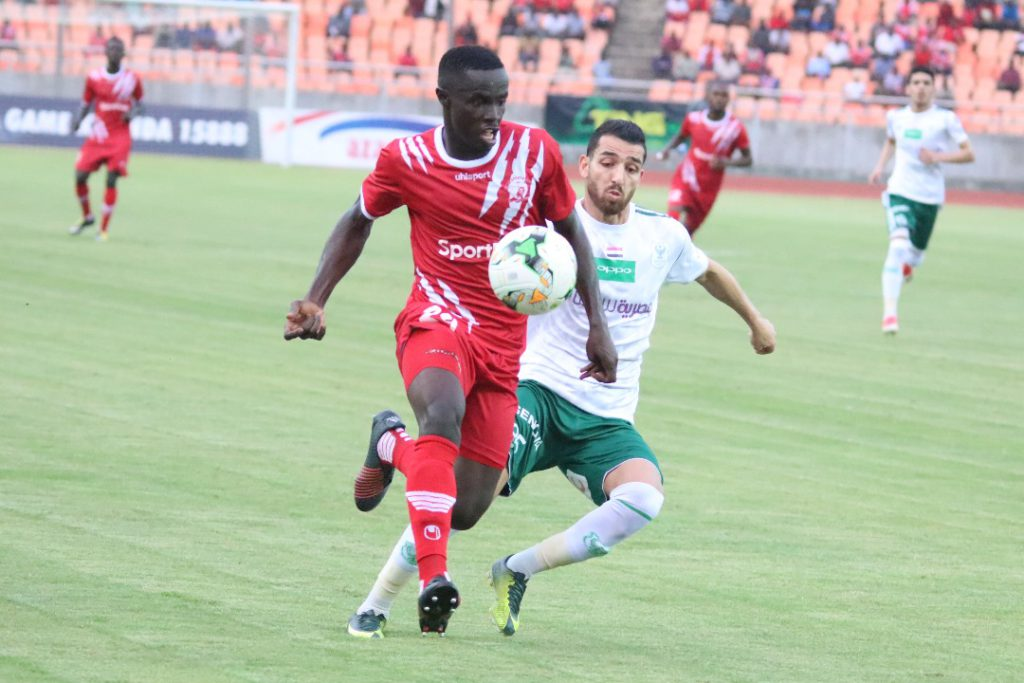 Simba SC forward Nicholas Gyan confident ahead of Mbabane Swallows clash in CAF CL