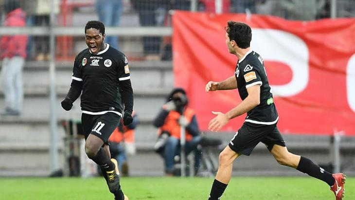 Ghanaian duo Emmanuel Gyasi and Bright Gyamfi secure promotion play-off spots for Spezia and Benevento in Italy