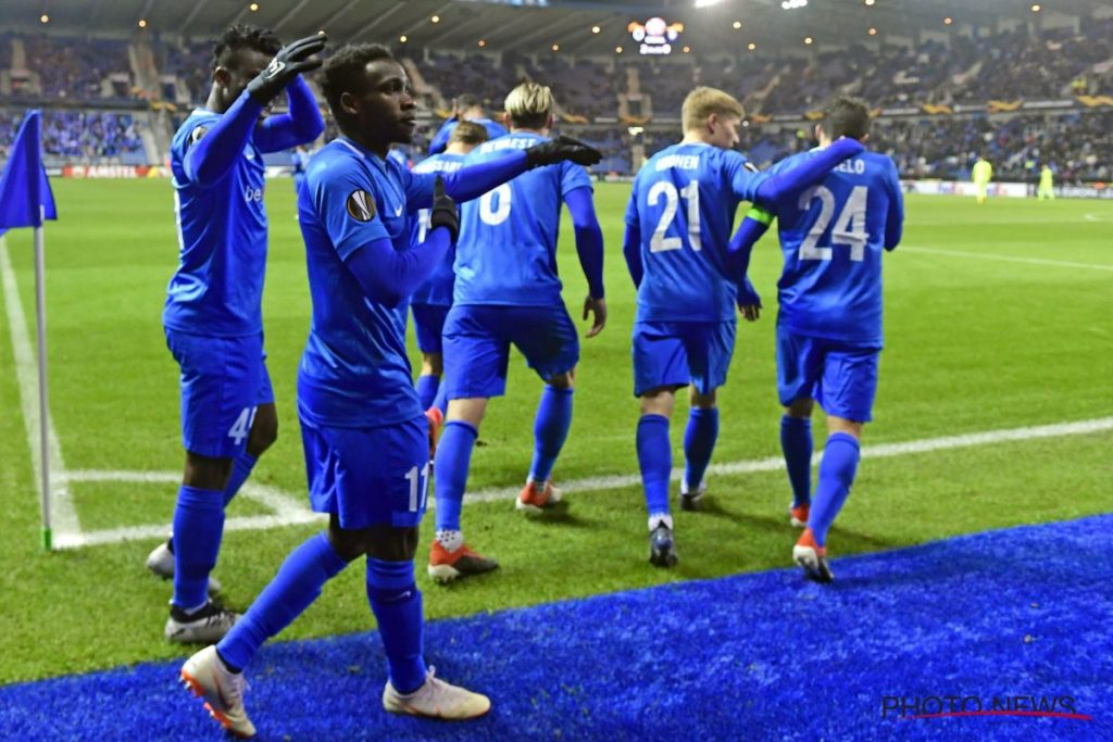 Video: Ghana youth star Joseph Paintsil scores as Genk start Belgian playoffs in style
