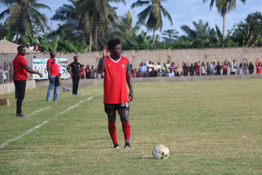 Karela United won't renew contract of 'politician' defender Godfred Saka
