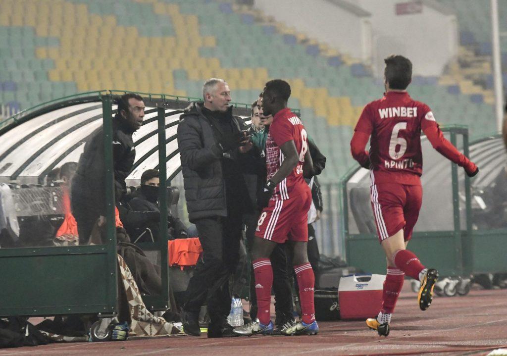 CSKA Sofia winger Edwin Gyasi suffers racist abuse from Slavia Sofia goalkeeper Georgi Petkov