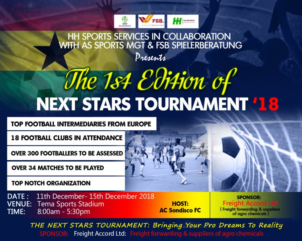 """Next Star Tournament 2018"" kicks start in Ghana today"