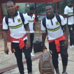 PHOTOS: Asante Kotoko leave for Kariobangi Sharks clash in CAF CC