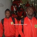 Asante Kotoko arrive in Ghana after Kariobangi Sharks game in Kenya
