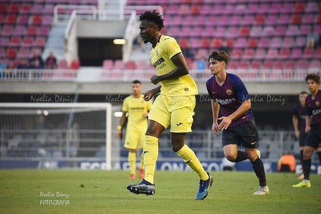 Villarreal midfielder Emmanuel Lomotey to make injury return next month