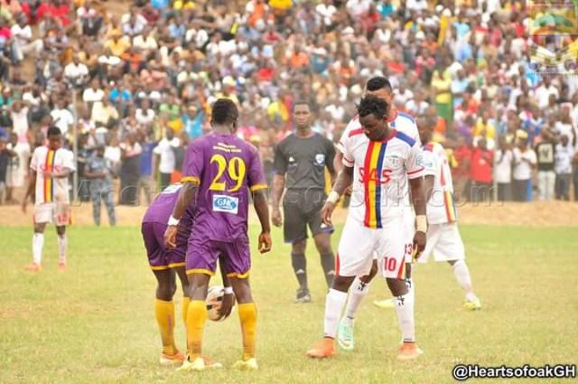 Match Report: Medeama 1-3 Hearts of Oak: Selassie Bakai bags brace as Phobians win friendly