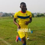 New signing Mohammed Alhassan holds first training session with Hearts of Oak