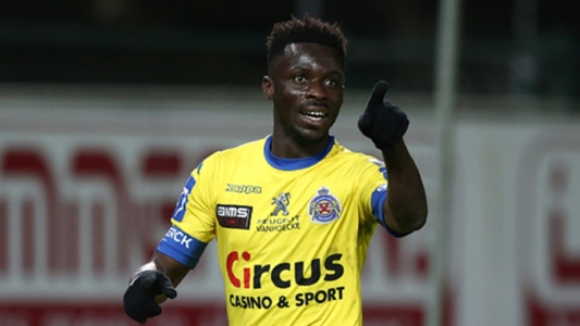 Nana Ampomah makes injury return as Waasland Beveren stun Club Brugge