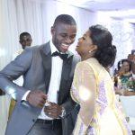 PHOTOS: Columbus Crew star Jonathan Mensah's 'moderate' wedding with Kafui Tinaglafo in Accra