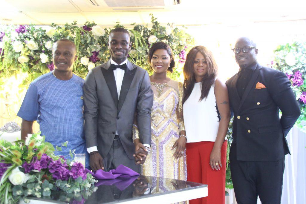 David donkor wedding