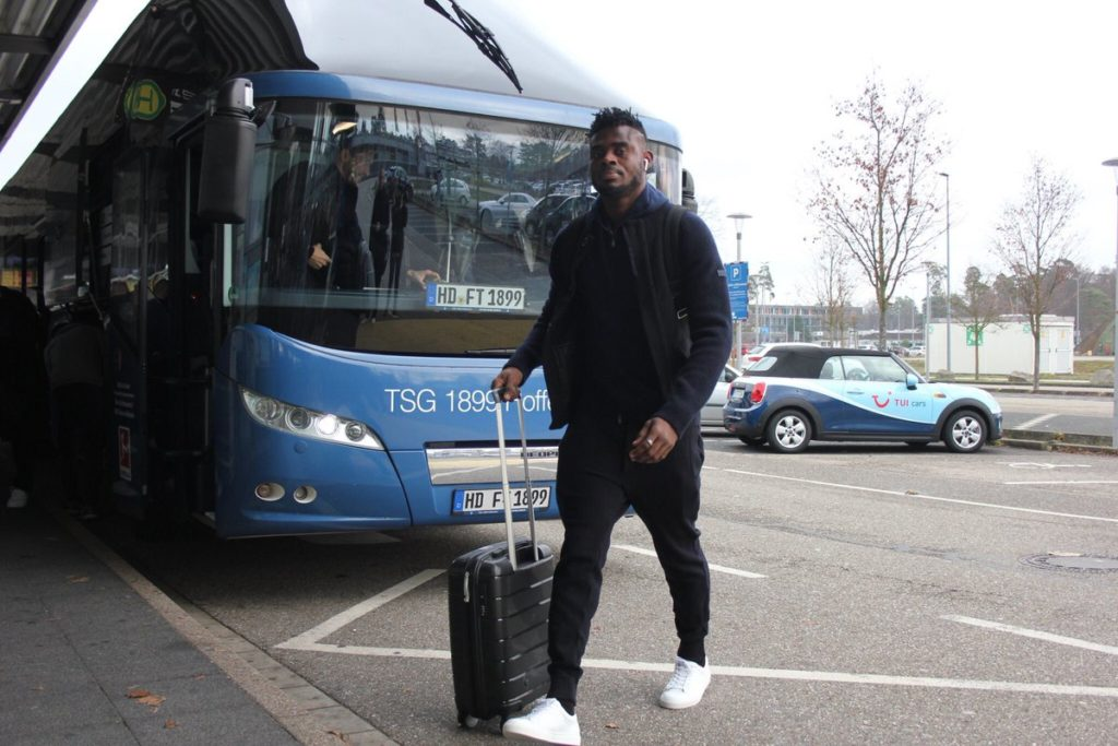 Hoffenheim defender Kassim Adams arrives in England ahead of Manchester City clash