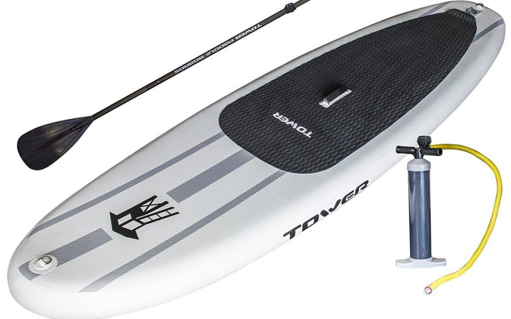 Four benefits to investing in an inflatable paddle board