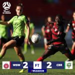 VIDEO: Black Queens captain Elizabeth Addo produces 'dazzling' assist for Western Sydney Wanderers in W-League draw