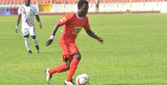 Asante Kotoko defender Augustine Sefah signs one-year contract extension