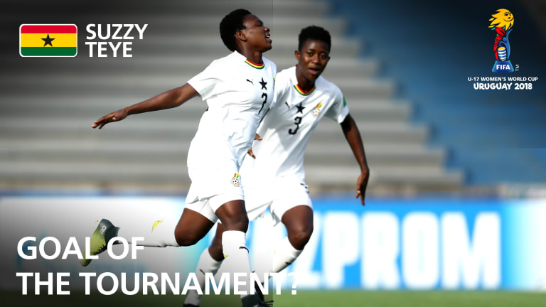 Mukarama, Teye goals nominated for goal of the tournament at FIFA U-17 Women's World Cup