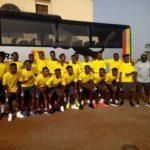 PHOTOS: Black Satellites leave for WAFU U-20 championship in Togo