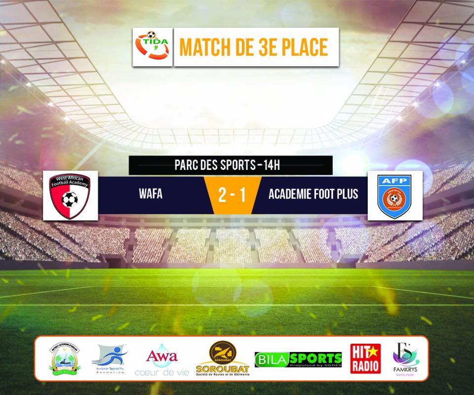 WAFA U17 beat Burkinabe side Academie Foot Plus to win bronze at TIDA tournament in Ivory Coast