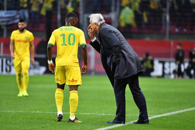Majeed Waris suffers injury in Nantes defeat to Saint Etienne in France