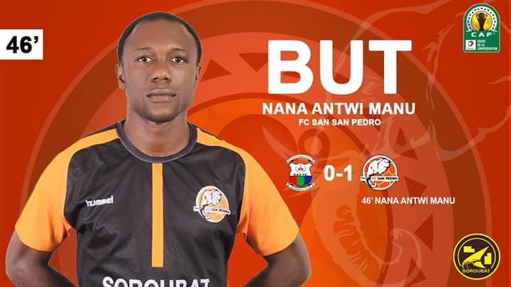 CAF inter-clubs competitions: Nana Antwi Manu scores to send San Pedro through as 21 Ghanaian players have sides progress