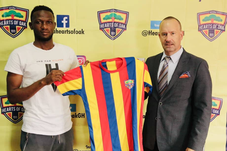 Hearts of Oak capture former WAFA captain Mohammed Alhassan