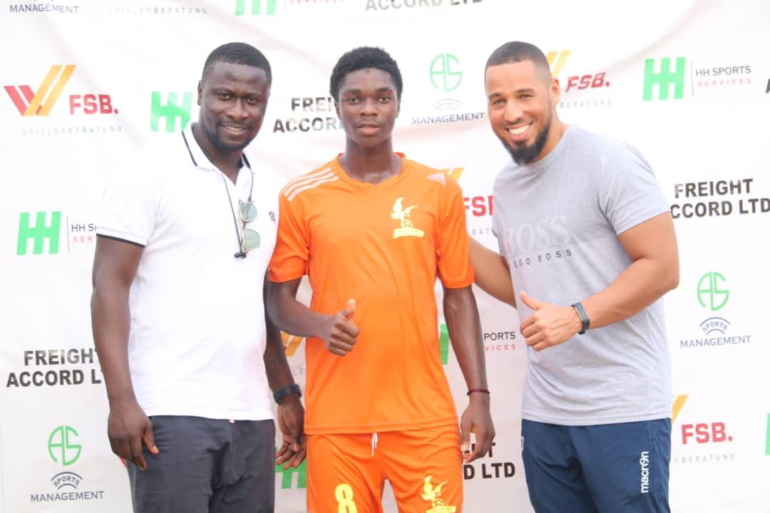 Tema United FC win and produce MVP Seidu Suraj in 2018 Next Star tournament