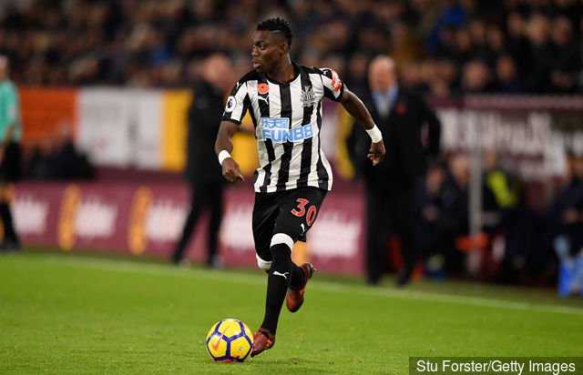 Christian Atsu says Newcastle United deserve better position on league log ahead of Huddersfield Town clash
