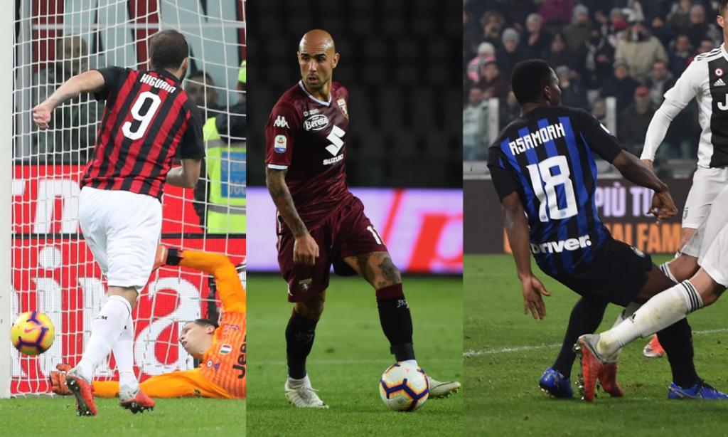 Juventus mock former players Kwadwo Asamoah, Zaza and Gonzalo Higuain