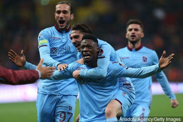 VIDEO: Watch Caleb Ekuban's superb strike for Trabzonspor in victory over Kayserispor