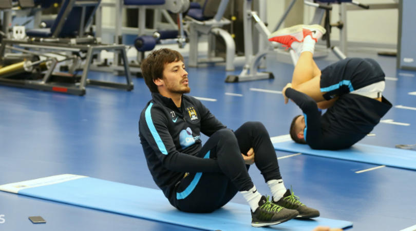 Five tips for footballers to setting up a home gym