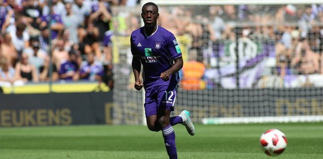 RSC Anderlecht to offload Ghanaian defender Dennis Appiah in January