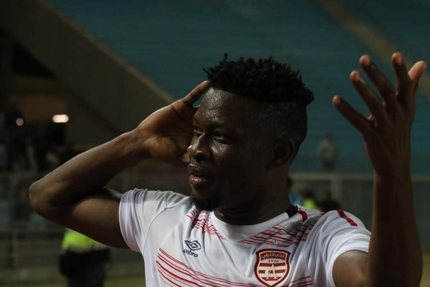 Ghana's Derrick Sasraku bags first Champions League goal for Club Africain