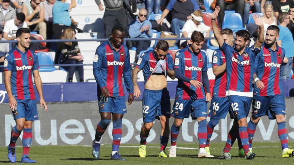 Video: Ghana striker Dwamena scores memorable first goal for Levante in Spanish Cup victory