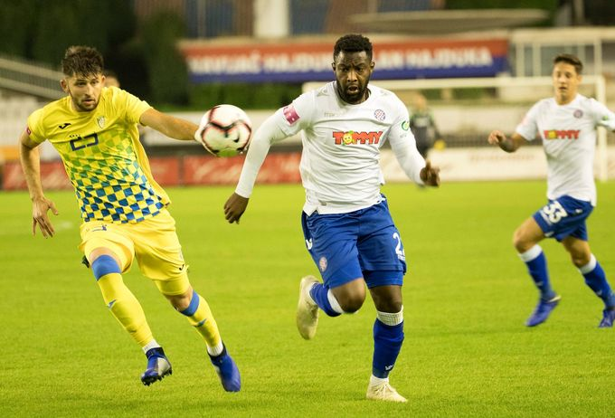Hajduk Split striker Said Ahmed Said dispels injury rumours after recent bench roles