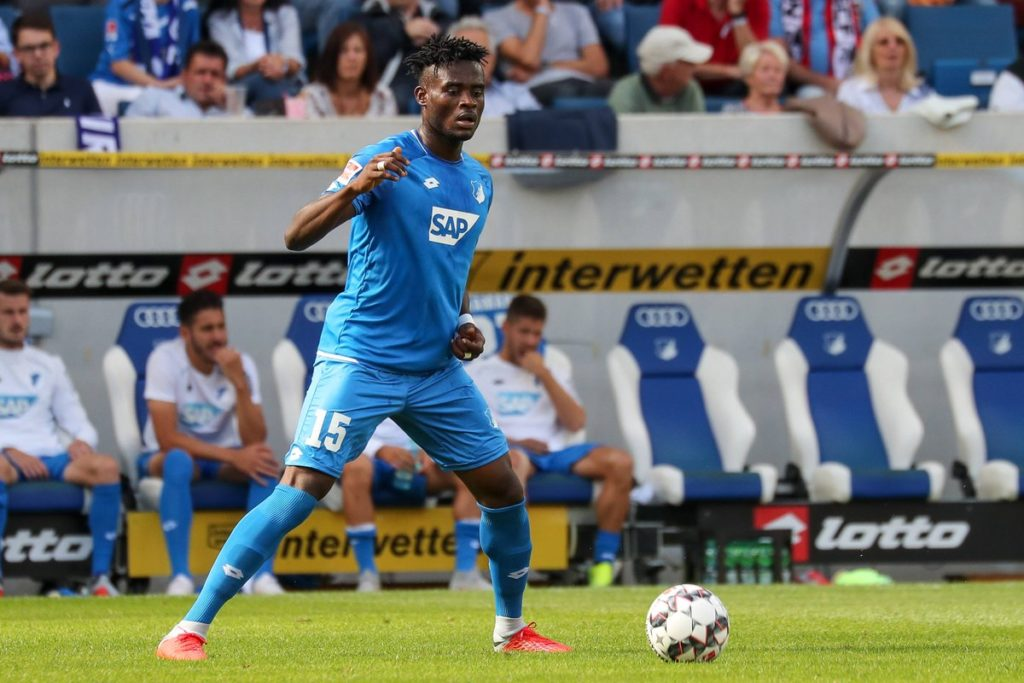 Ghanaian defender Kassim Nuhu features in TSG Hoffenheim win over Hannover 96