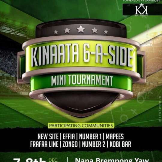 Ghana's rapper Kofi Kinaata to organise mini football tournament in native city