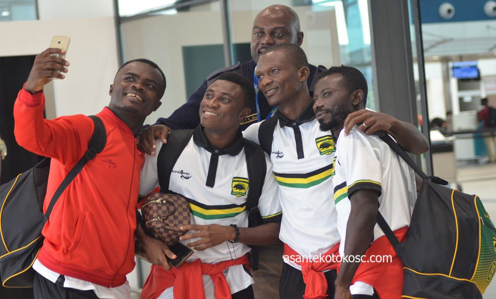 Caf Confederation Cup: Asante Kotoko to arrive in Ghana today after sharing spoils with Kariobangi Sharks