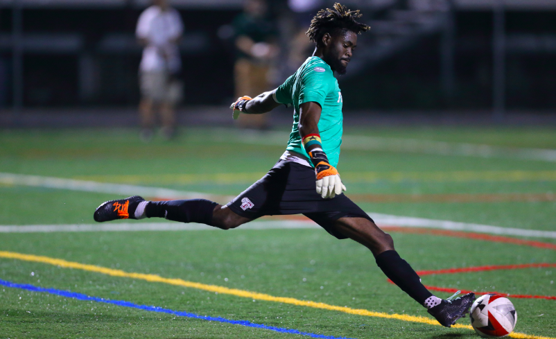 Right to Dream graduate goalkeeper Rashid Nuhu gets chance to play in MLS after university degree