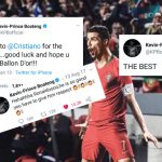 Barcelona fans trolled with twitter posts of Kevin-Prince Boateng's worship of C. Ronaldo