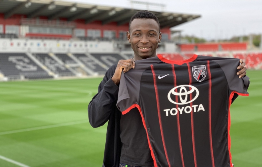 Ghanaian defender Joshua Yaro excited about San Antonio FC move